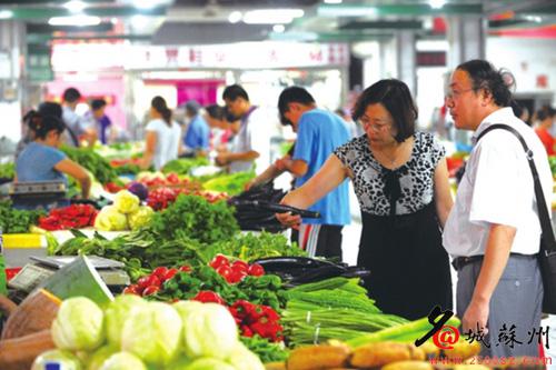 江苏苏州:叶菜价格全面回落西红柿两连跌