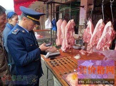 江苏徐州农副产品中心批发市场召开生鲜猪肉销售监管会议