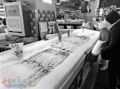 带鱼等海产价节前涨三成
