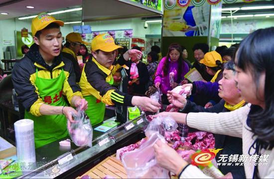 北大猪肉佬兄弟来无锡了 一年卖猪肉卖出十个亿