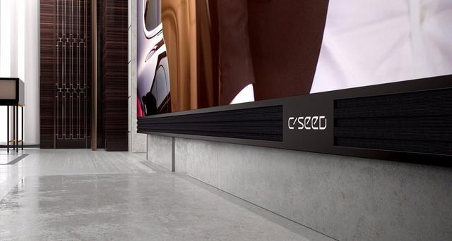 美国造出全世界最大电视:1600斤重 能换一套北京两居室