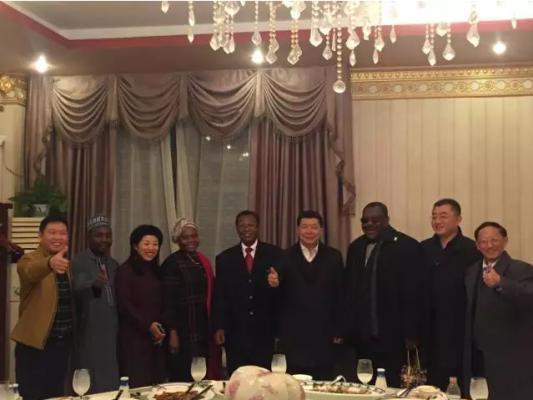 正邦总裁林印孙会见尼日利亚驻华大使